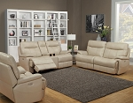 Geraldine Power Reclining Sofa and Loveseat